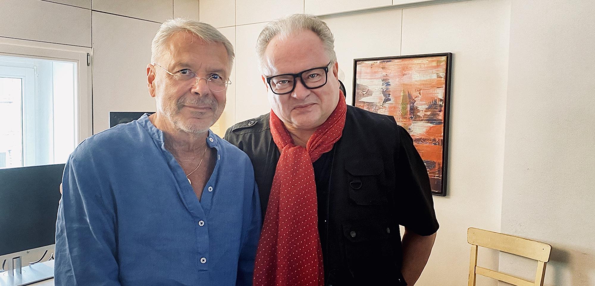 Heinz und Reinhard klein